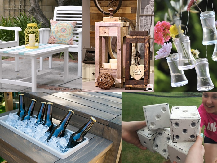 DIY Porch and Patio decorating Ideas for a Fun Summer - Anika's .