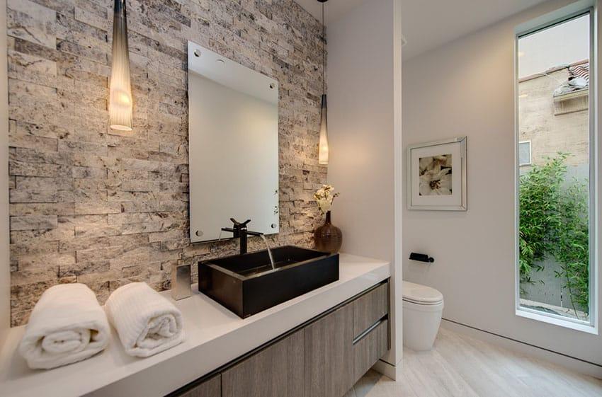 15 Bathroom Pendant Lighting Design Ideas - Designing Id