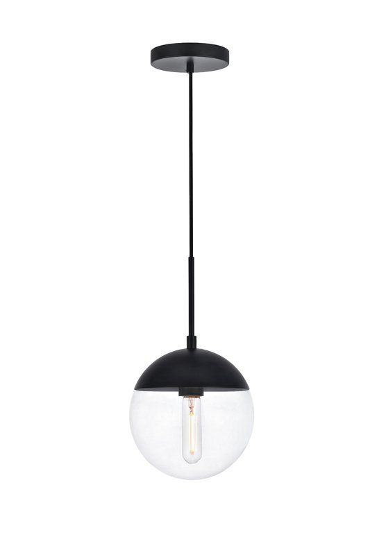 Yearby 1 - Light Single Globe Pendant | Bathroom pendant lighting .