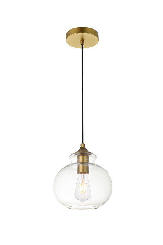 Cerys 1 - Light Single Globe Pendant in 2020 | Globe lights, Globe .
