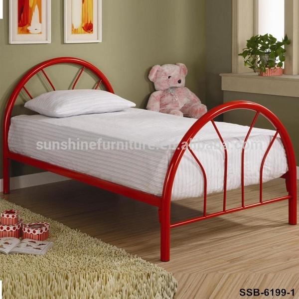 Home Bedroom Furniture Single/twin Size White/black/blue/pink Kids .