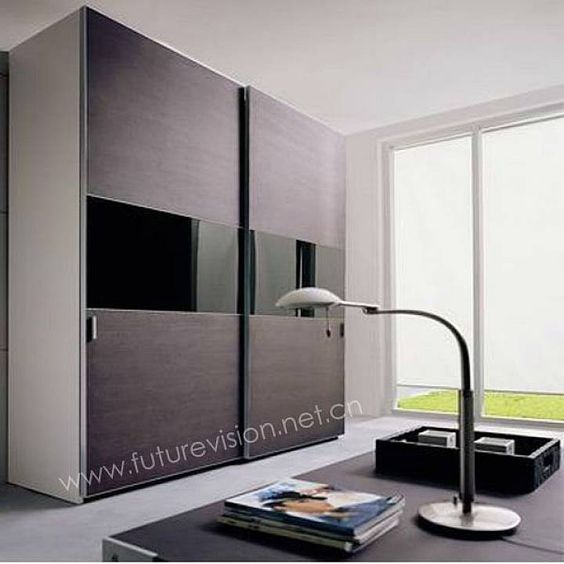 contemporary closet doors for bedrooms | Bedroom: Modern Sliding .