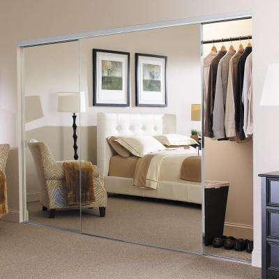 Brushed Nickel Finish - Sliding Doors - Interior & Closet Doors .