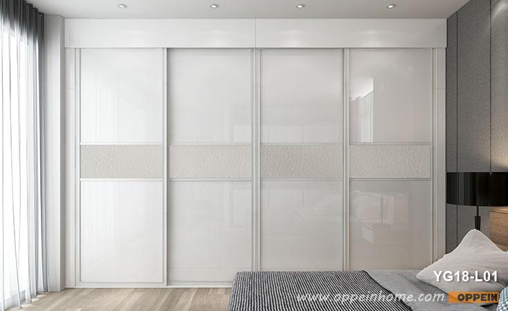 4 Panels Sliding Door Wardrobe YG18-L01- OPPEIN | The Largest .