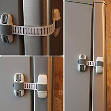 Amazon.com : Baby Kids Cabinet Fridge Baby Security Sliding Door .