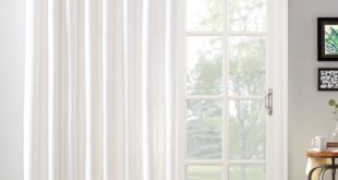 Mainstays Sliding Glass Door Thermal Lined Room Darkening Grommet .