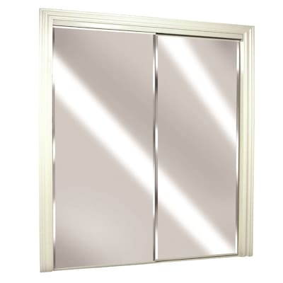 ReliaBilt (Glass/Mirror) Flush Steel Sliding Closet Door Hardware .
