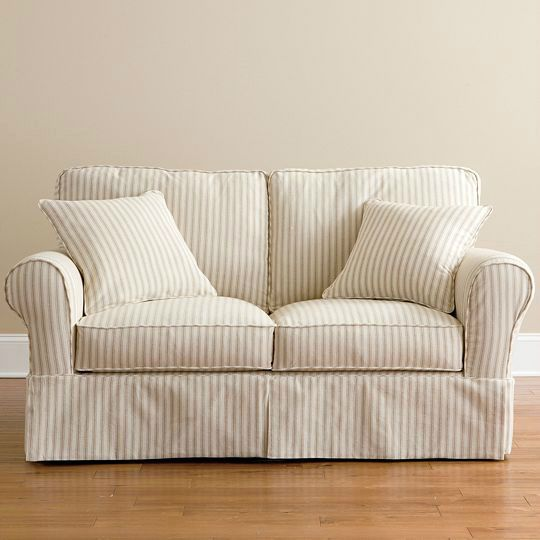 Slipcovers for Sofas and Loveseats (With images) | Slipcovered .