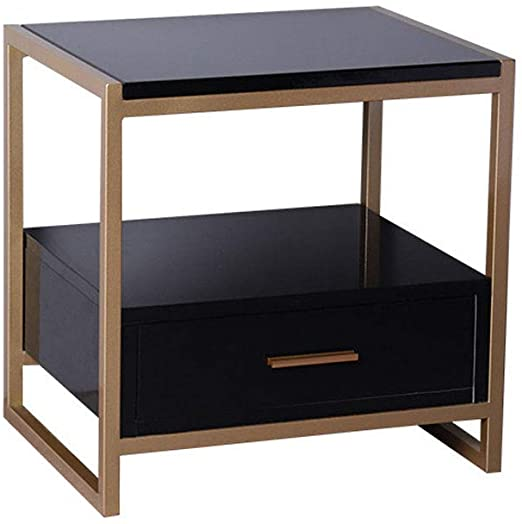 Amazon.com: WSI Bedside Table Night Stand Table Side Tables Bed .
