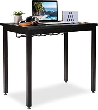 "Amazon.com: Small Computer Desk for Home Office - 36"" Length Table ."
