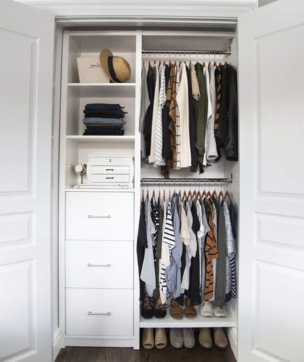 3 Closet Organizer Ideas in 2020 | Closet bedroom, Small closets .
