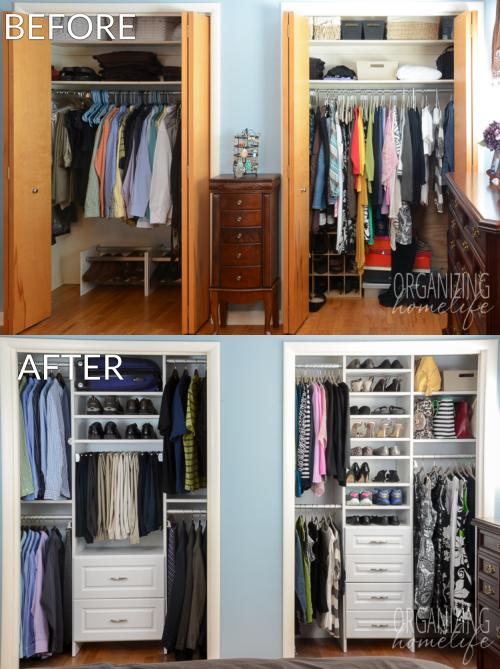 $1,000 EasyClosets Organized Closet Giveaway | Closet remodel .