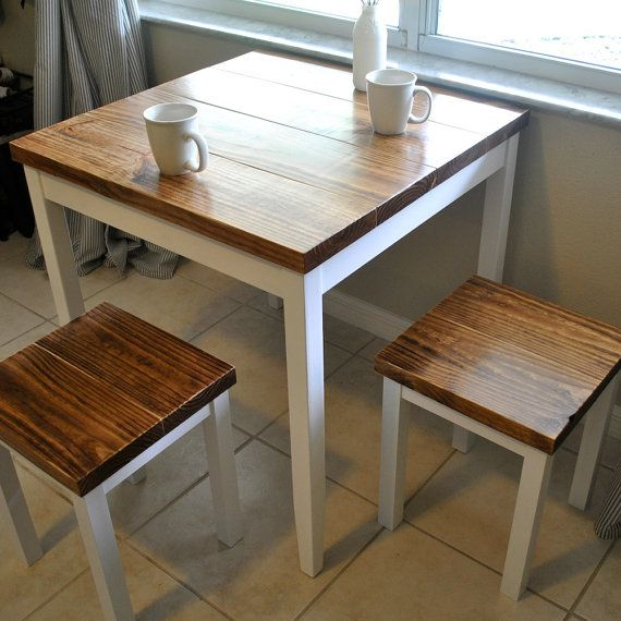 Farmhouse Breakfast Table or Dining Table Set with or without .