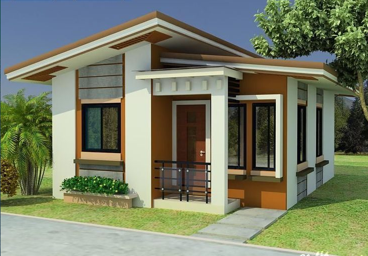 Elegant Minimalist Houses Design (With images) | Small house .