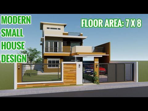 OFW SIMPLE DREAM HOUSE | MODERN HOUSE DESIGN | 2-STOREY SMALL .