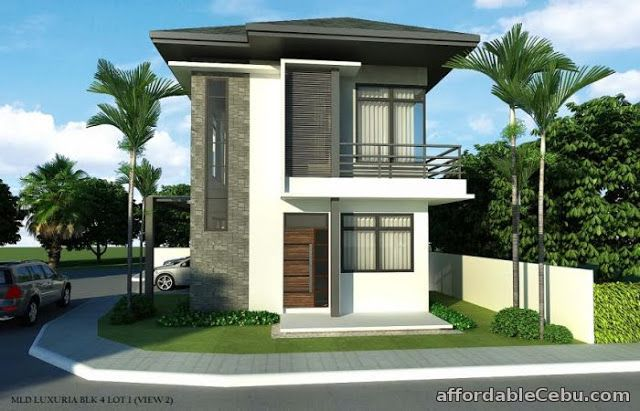 Collection: 50 Beautiful Narrow House Design for a 2 Story/2 Floor .