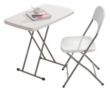 small plastic HDPE folding table, adjustable kids table for .