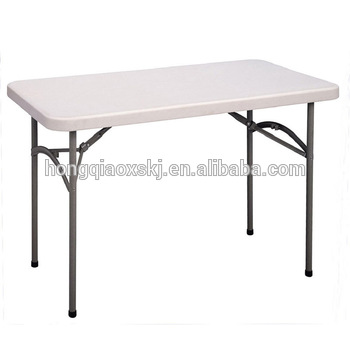 Hot Selling High Quality Plastic Folding Table With Low Price .