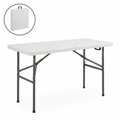 Foldable Table 4 Foot Small Portable Plastic Folding Fold Up .
