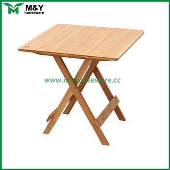 Small Portable Bamboo Wood Folding Table - Buy Wood Folding .