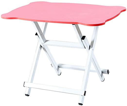 Amazon.com: WZHFOLDINGTABLE Portable Folding Table Dining Table .