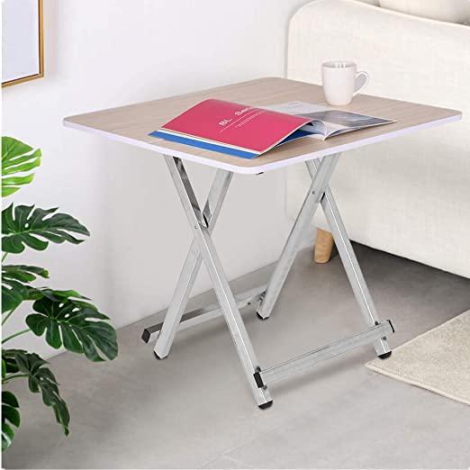 Amazon.com: Lataw Small Folding Table, Portable Personal TV Tray .