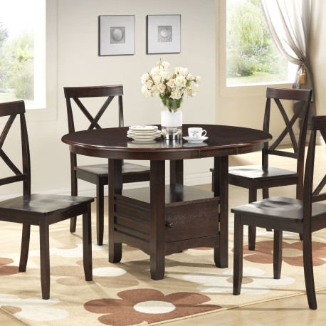 small round dining table and chairs round dining - Home Decor Ide