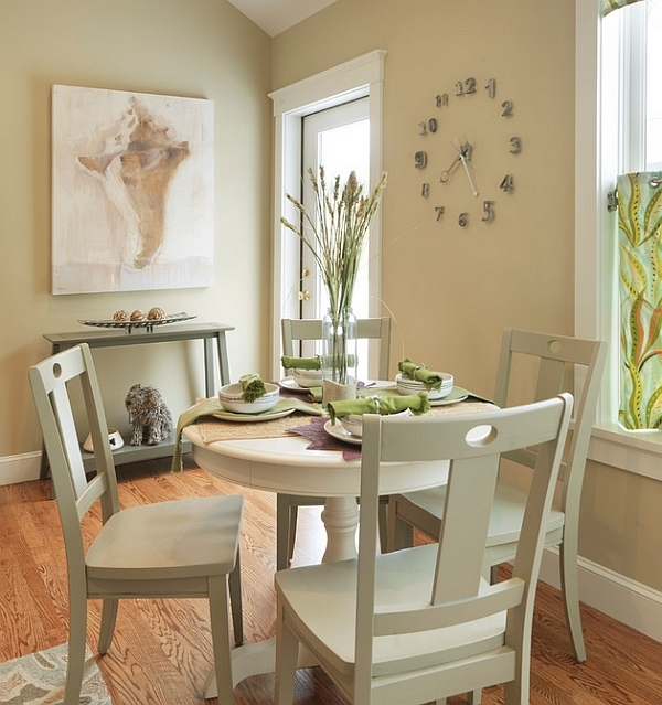 Round Dining Tables Perfect Fit Small Rooms Save Space – Saltandblu