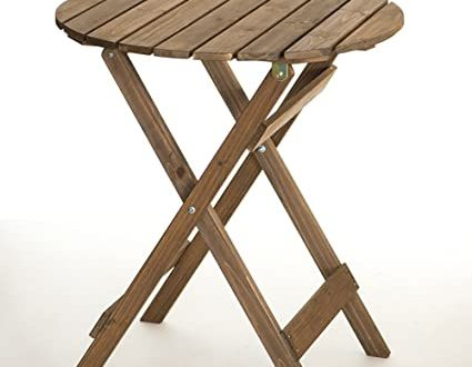 Amazon.com: Folding Table Small-Low-Round Folding Table-and Chairs .