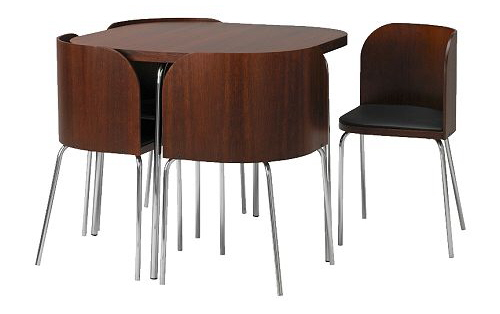 Ikea Fusion: Small Spaces Dining Table and Chairs S
