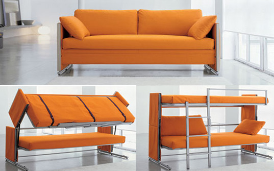 Bonbon's Doc sofa turns into a bunk bed in a snap « Inhabitat .