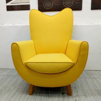 Modern Single Seater Fabric Sofa Chair - Buy Single Seater Sofa .