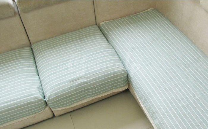 DIY Sofa Cushion Covers .   Fabric sofa cover, Diy sofa cover, Diy .