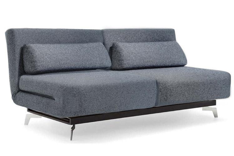 Grey Modern Futon Sofabed Sleeper | Apollo Couch Futon | The Futon .