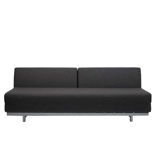 T2 Sofabed - Felt Grey | MUJI Onli
