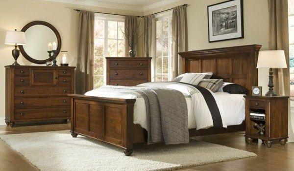 Hudson Falls Bedroom Collection #SolidWood #MadeInCanada .