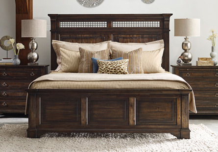 Bedroom Solid Wood Construction by Kincaid Furniture in
