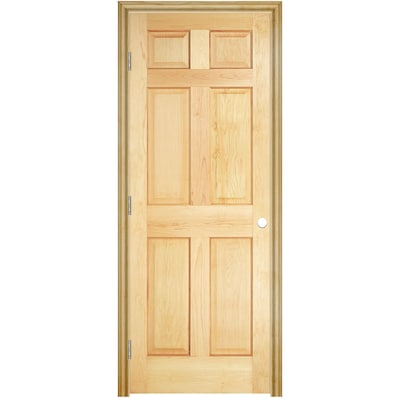 ReliaBilt Pre-hung Doors (Unfinished) 6-Panel Solid Core Wood Pine .