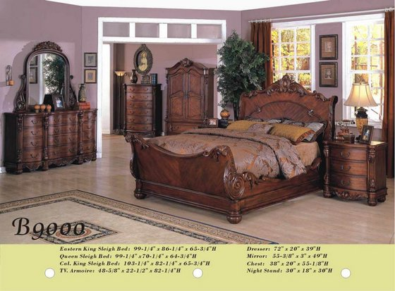 B9000 Solid Wood Bedroom Set(id:5005422) Product details - View .