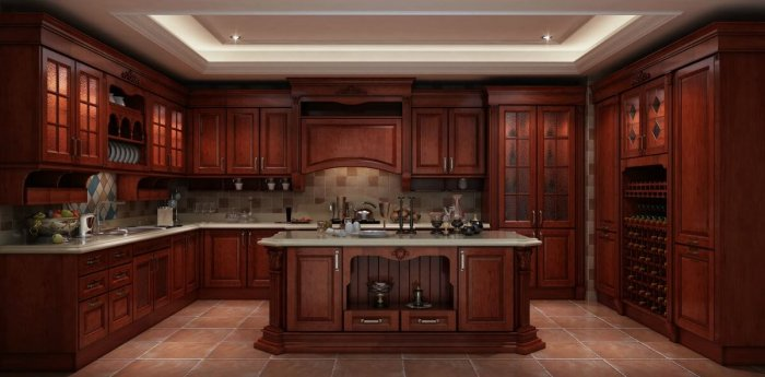 An Insight into Solid Wood Kitchen Cabinets | | Founteri