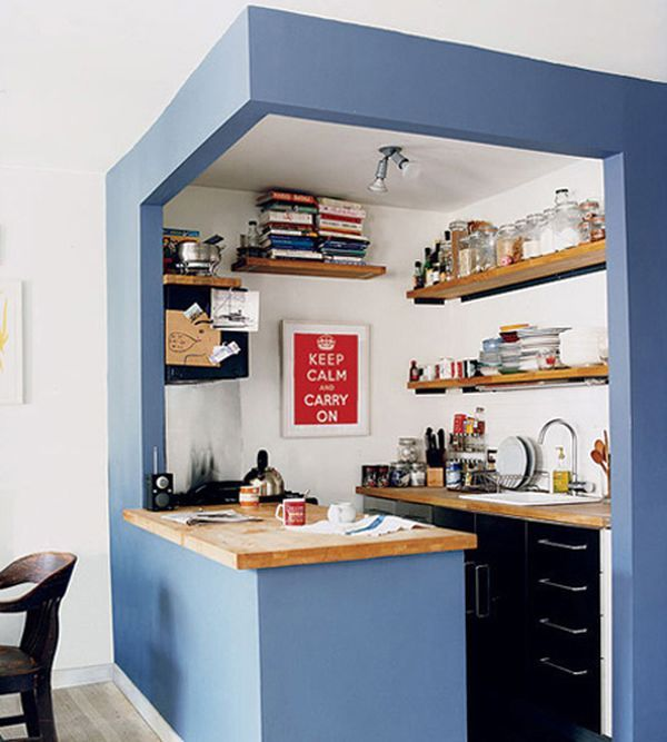 27 Space-Saving Design Ideas For Small Kitchens | Kitchen design .