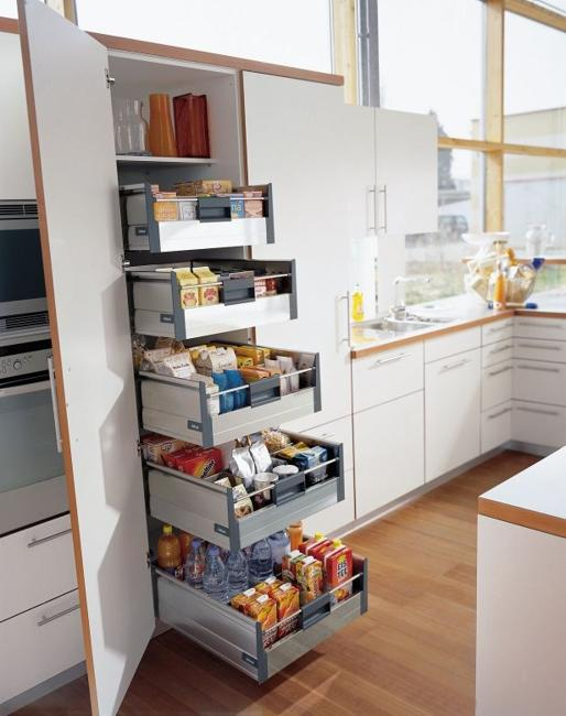 Ways to Open Small Kitchens, Space Saving Ideas from IK