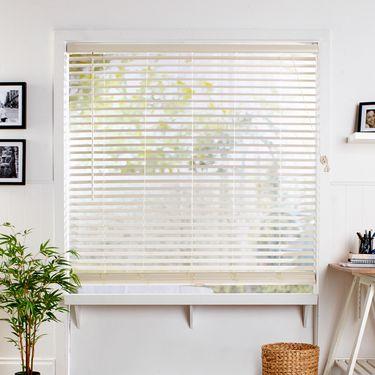 Windowshade 50 mm Timber Venetian Blind Alabaster | Spotlight .