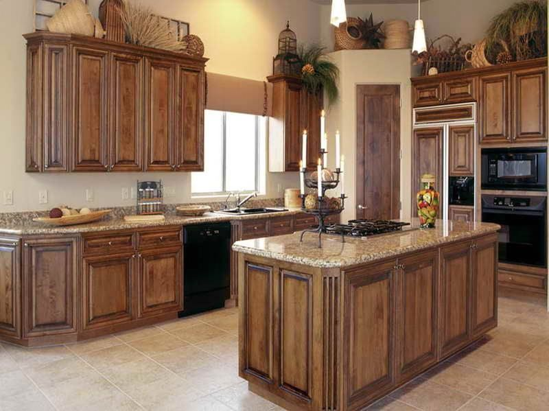 How To Stain Oak Kitchen Cabinets Plus Staining Cabinets Without .