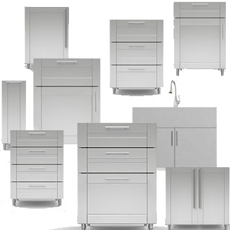 Stainless Steel Cabinets - Indoor Cabinetry | Stainless Supp