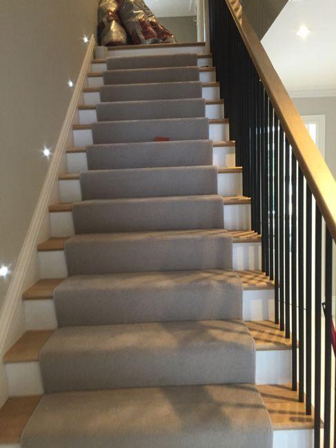 Stairs | Carpet stairs, Grey stair carpet, Carpet desi
