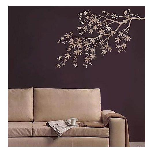Tree stencil, Stencil designs for Easy Wall Decor. Wall designs at .