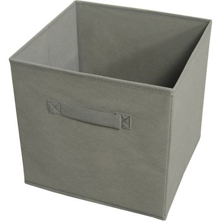 Achim Collapsible Storage Bins, Pack 4, Gray - Walmart.com .