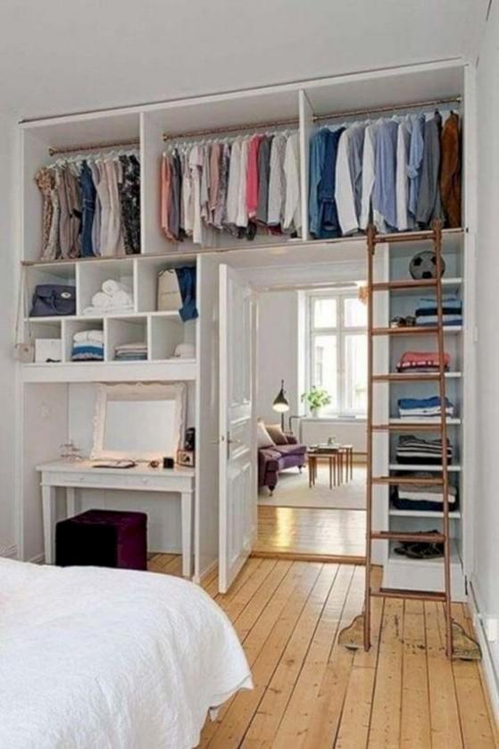 77 Cute Diy Bedroom Storage Design Ideas For Small Spaces | ekawer.c