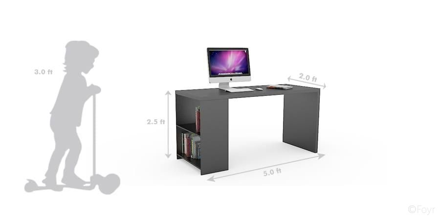 study table dimensions - Google Search | Table dimensions, Study .